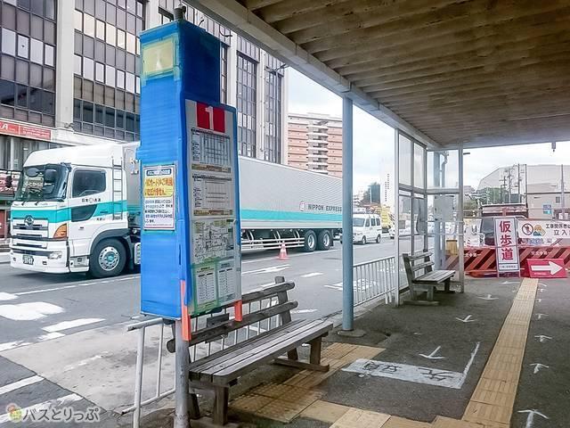 南海和歌山市駅バス停