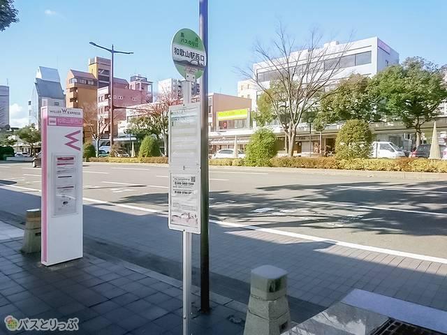 和歌山駅西口(けやき大通り)