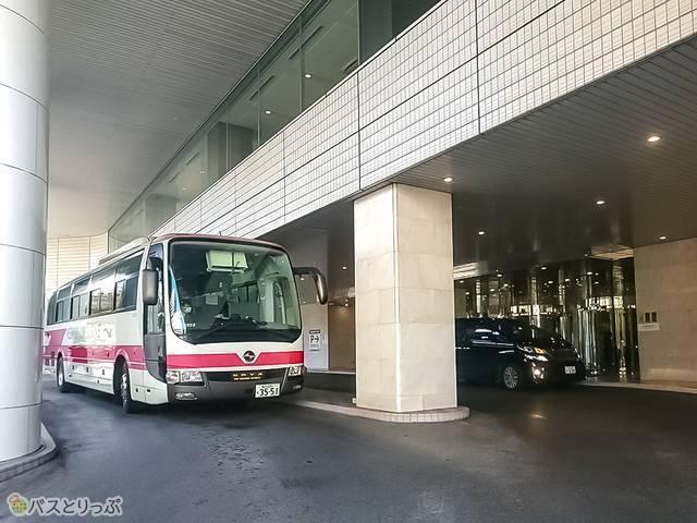 新横浜プリンスホテルリムジンバス発着所