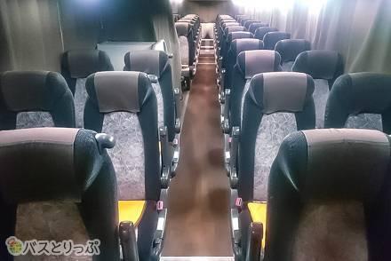 関東~関西間を運行する青垣観光バス「たびのすけ」4つの便の設備・運行情報を比較してみた