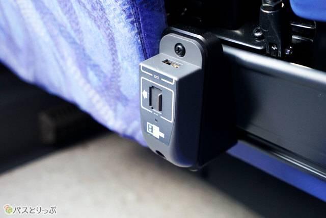 2台同時に充電が可能な2口USB充電端子を初装備
