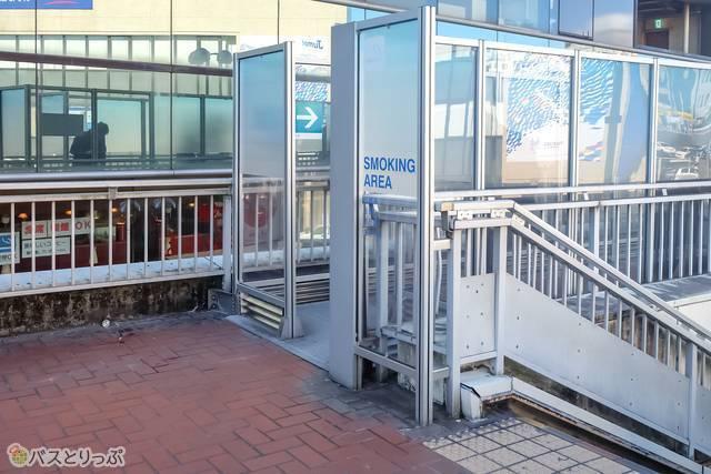 町田バスセンター喫煙所