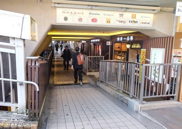 町田バスターミナル周辺