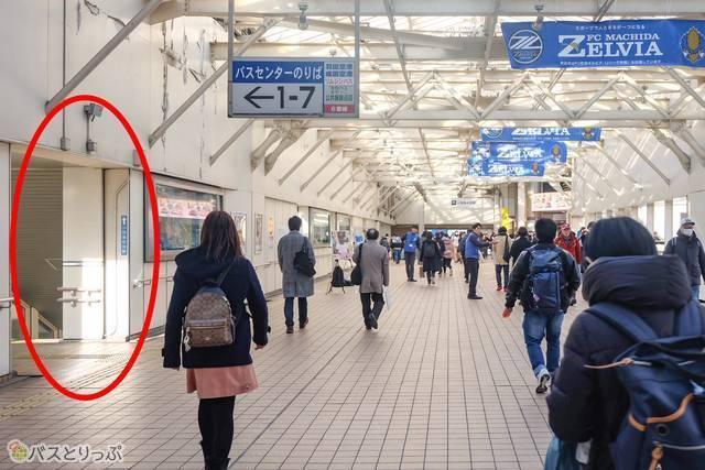 JR町田駅から町田バスセンターへの行き方