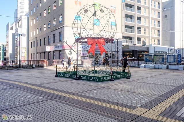 町田ターミナルプラザ前の広場