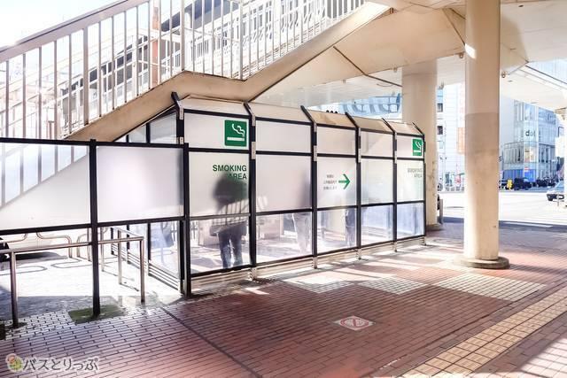 小田急町田駅西口喫煙所