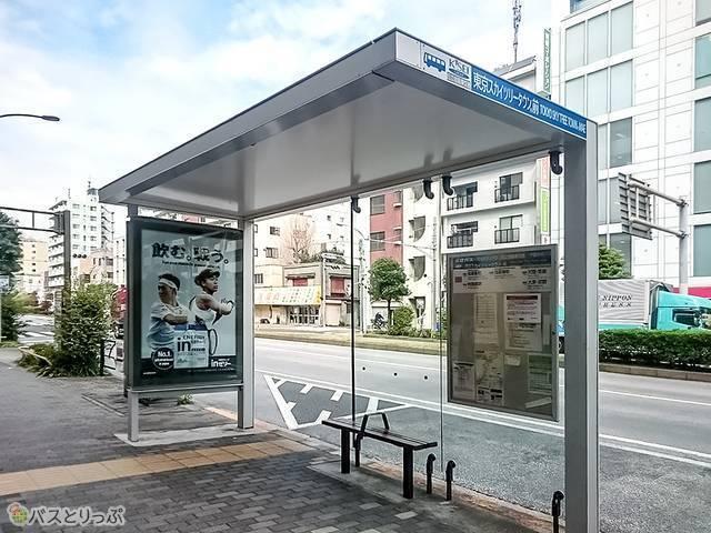 スカイツリータウン前バス停