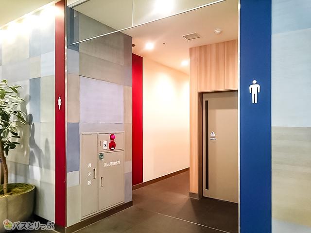 トイレは「東京ソラマチ」の各フロアにある
