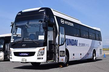現代ユニバース ZFトルコンAT搭載車(現代自動車ジャパン)