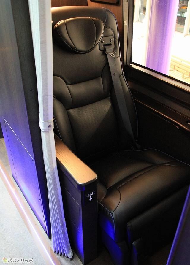 新車両の「プレミアムシート」(写真追加:2020.07.17)