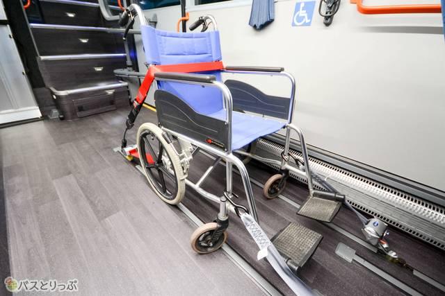 車椅子用のスペース