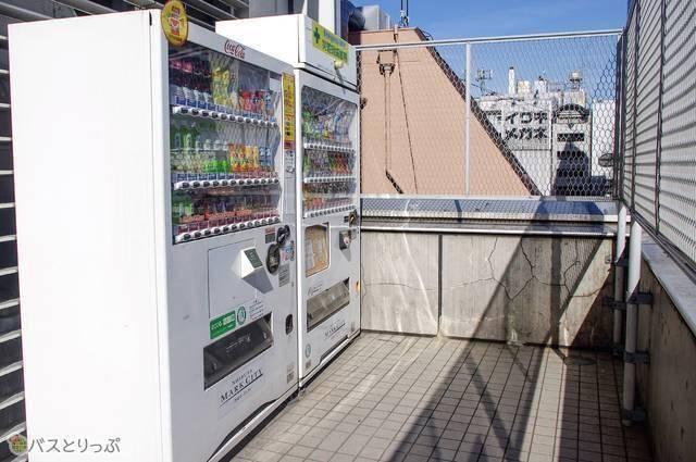 渋谷マークシティバスターミナル・自動販売機