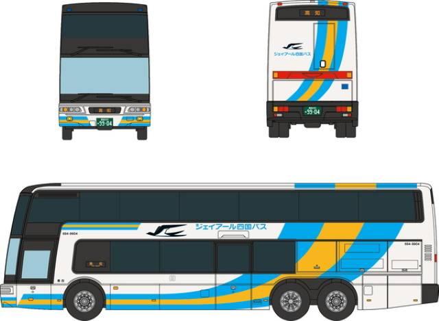 ジェイアール四国バス 現行塗装