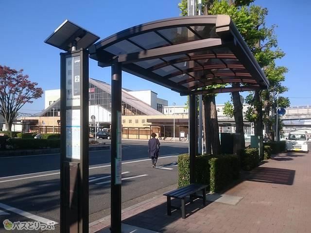 新前橋駅東口高速バス乗り場