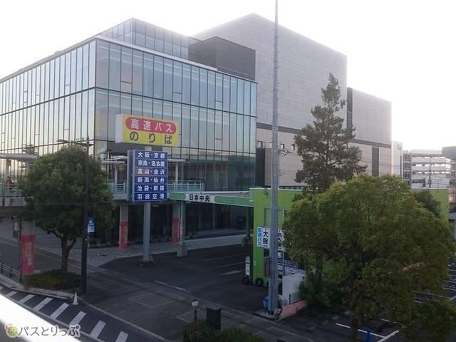 高崎バスセンターまであと少し