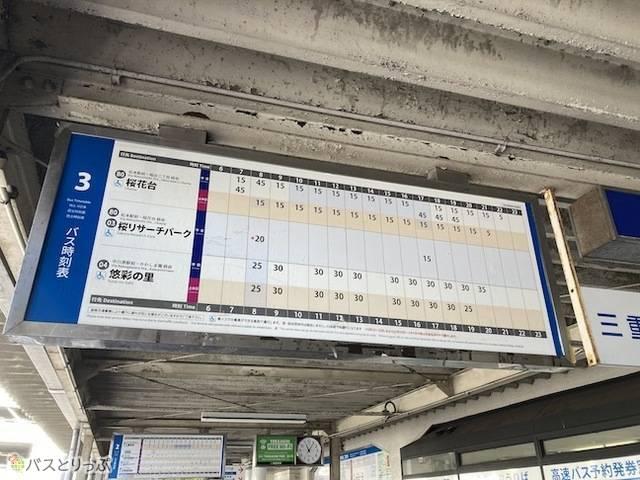桃花台方面バス時刻表.jpeg