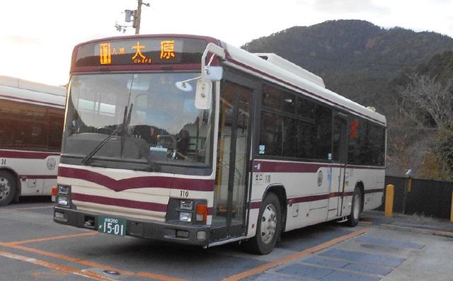 日野自動車 PJ-KV234N1 2007年式(高野営業所所属)