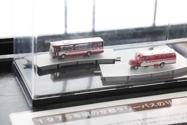 車両模型展示