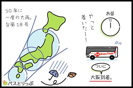 ということで大阪駅までゴー!
