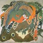 岩松院の「八方睨み鳳凰図」