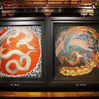 龍と鳳凰の天井図