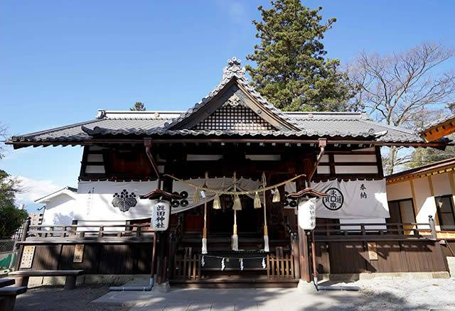 知将真田昌幸・幸村公をお祀りする神社、「智」の御利益があります