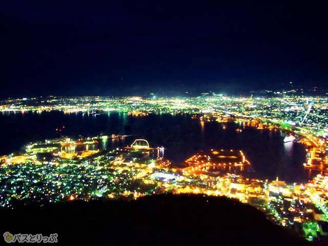 世界三大夜景「函館の夜景」