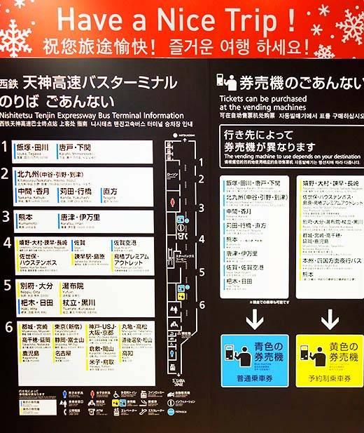 多言語対応の案内板