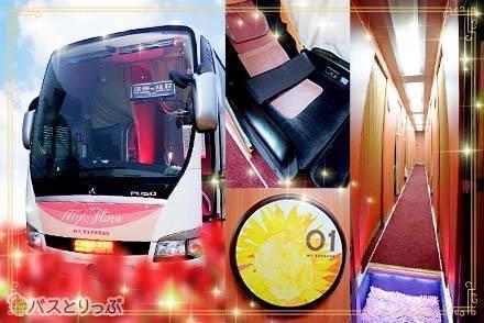 海部観光のマイフローラはまるで五つ星☆ホテル!夜行バスで徳島から東京まで贅沢空間を独り占め