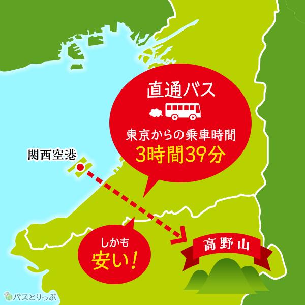 関西空港と高野山奥の院を直接結ぶバスが出た!